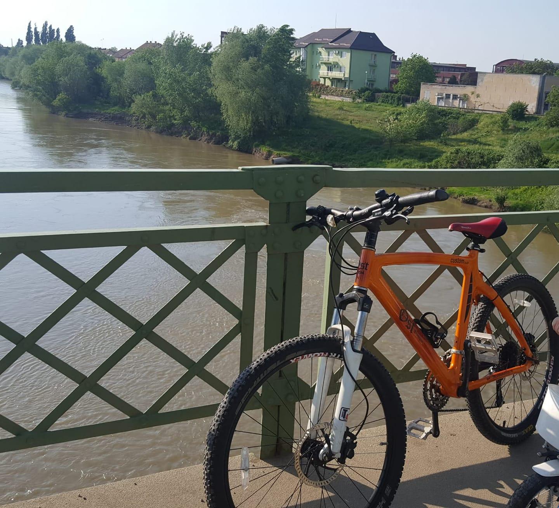 Bicicletă performantă furată, proprietarul OFERĂ RECOMPENSĂ (FOTO)