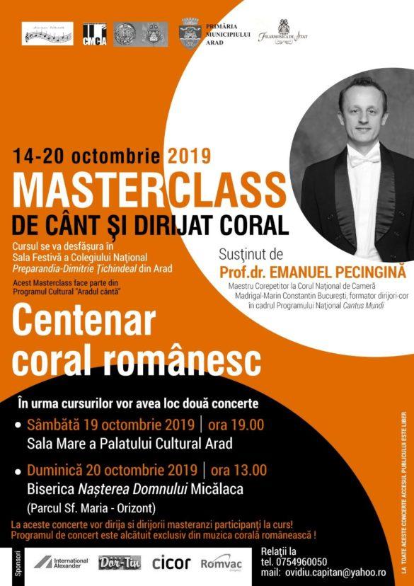 Centenar coral românesc, pe scena Filarmonicii de Stat Arad