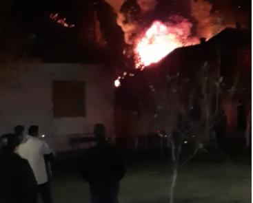 La un pas de dezastru într-o localitate din Arad (FOTO + VIDEO)