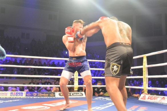 Dynamite Fighting Show Arad: Gafencu a ignorat gravitația, iar David a fost zdrobit de Goliat. Lupte încheiate sângeros (GALERIE FOTO)