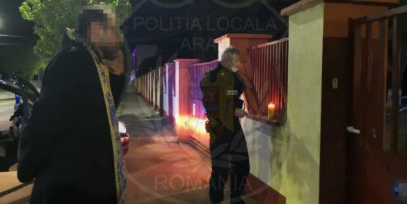 Și ei au primit lumina! Voluntarii Arhiepiscopiei Aradului au răspândit flacăra speranței persoanelor găzduite în centrele de carantină din Arad