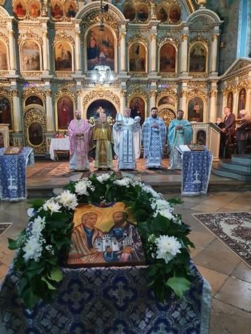 Cea mai veche biserică ortodoxă din Municipiul Arad și-a sărbătorit hramul (GALERIE FOTO)