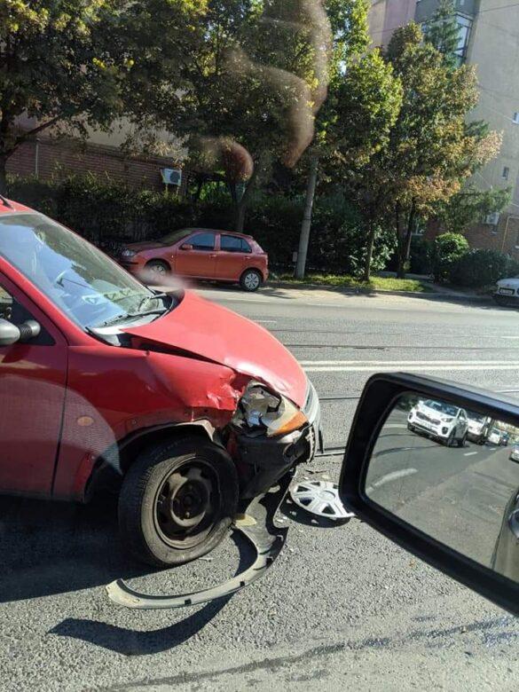 Mercedes vs Ford, în Arad (GALERIE FOTO)