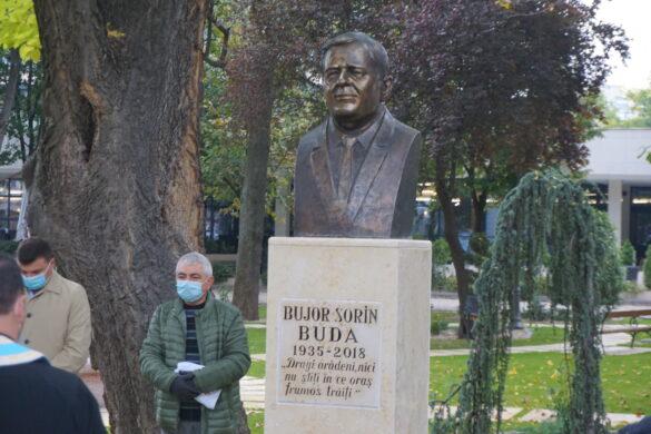 GALERIE FOTO/ Bujor Buda ar fi împlinit astăzi 85 de ani, iar arădenii i-au adus un omagiu
