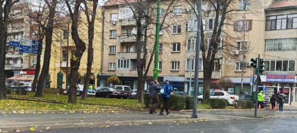 Încă o autospecială a poliției implicată într-un eveniment rutier în Arad