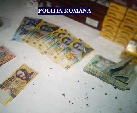 Percheziții la Pilu: vezi ce au descoperit polițiștii (GALERIE FOTO)