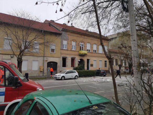 UPDATE/ Explozie pe o stradă din Arad. Un bărbat a fost rănit (FOTO)