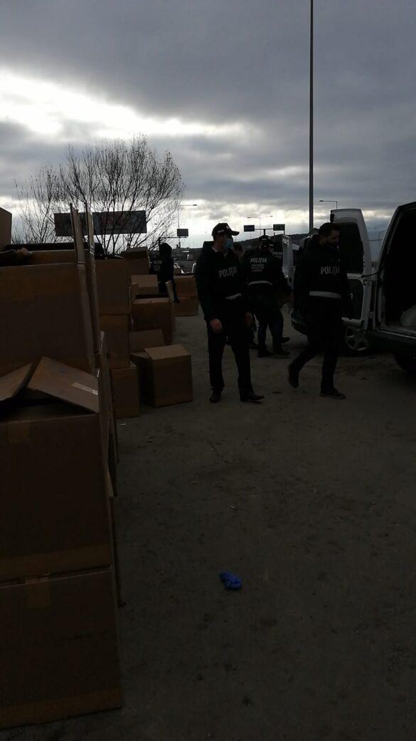 Peste 15.000 de sticle de parfum depistate în cadrul unei acțiuni pe linia verificării legalității tranportului de marfă (FOTO)