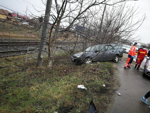 Accident pe Calea Aurel Vlaicu