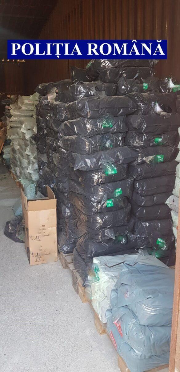 Peste 10 tone de produse raticide, indisponibilizate de polițiști