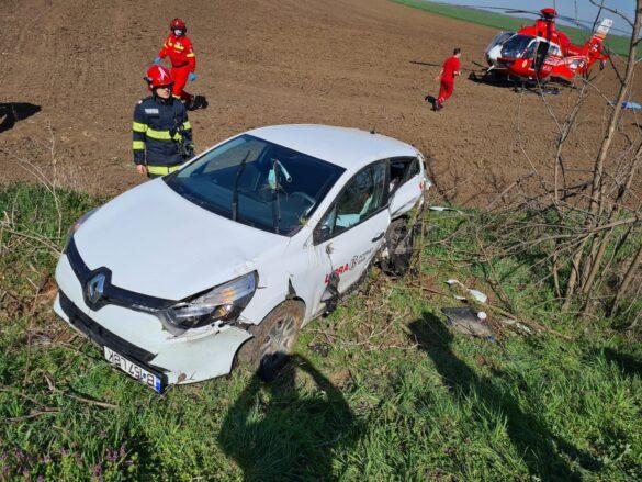 NEWS ALERT/ Accident GRAV pe DN79, în Arad. A intervenit elicopterul SMURD