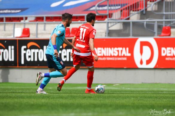 UTA Arad – Chindia 0-1: arădenii au ajuns la trei înfrângeri consecutive în play-out (GALERIE FOTO)